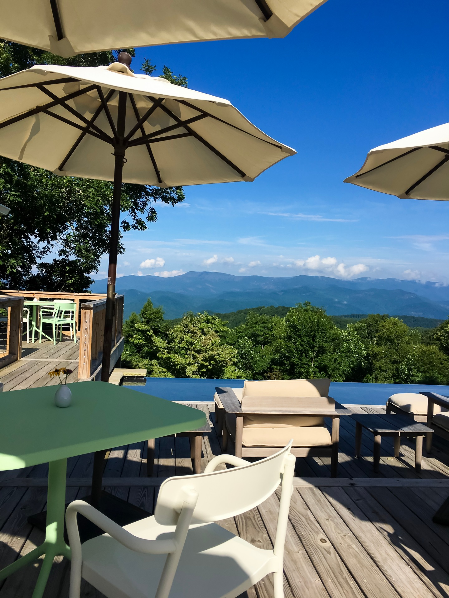 Fire Mountain Breakfast View - Highlands, North Carolina